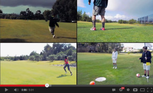 FootGolf portugal video